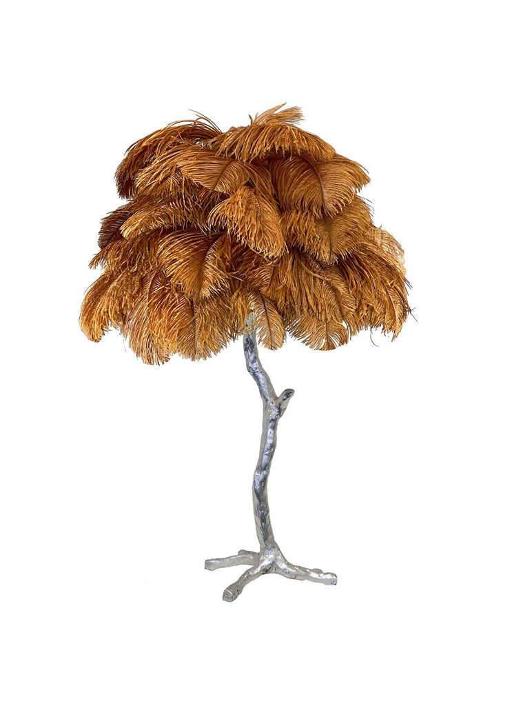 The Feather Table Lamp