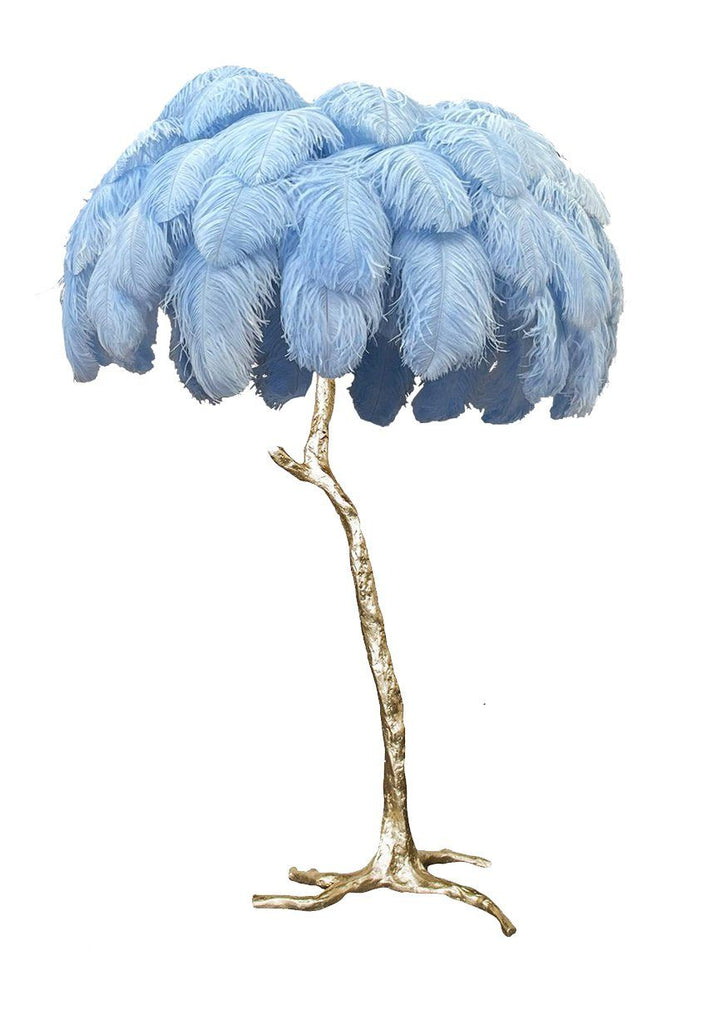 The Feather Floor Lamp