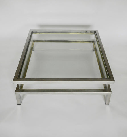 Chrome and Perspex Table