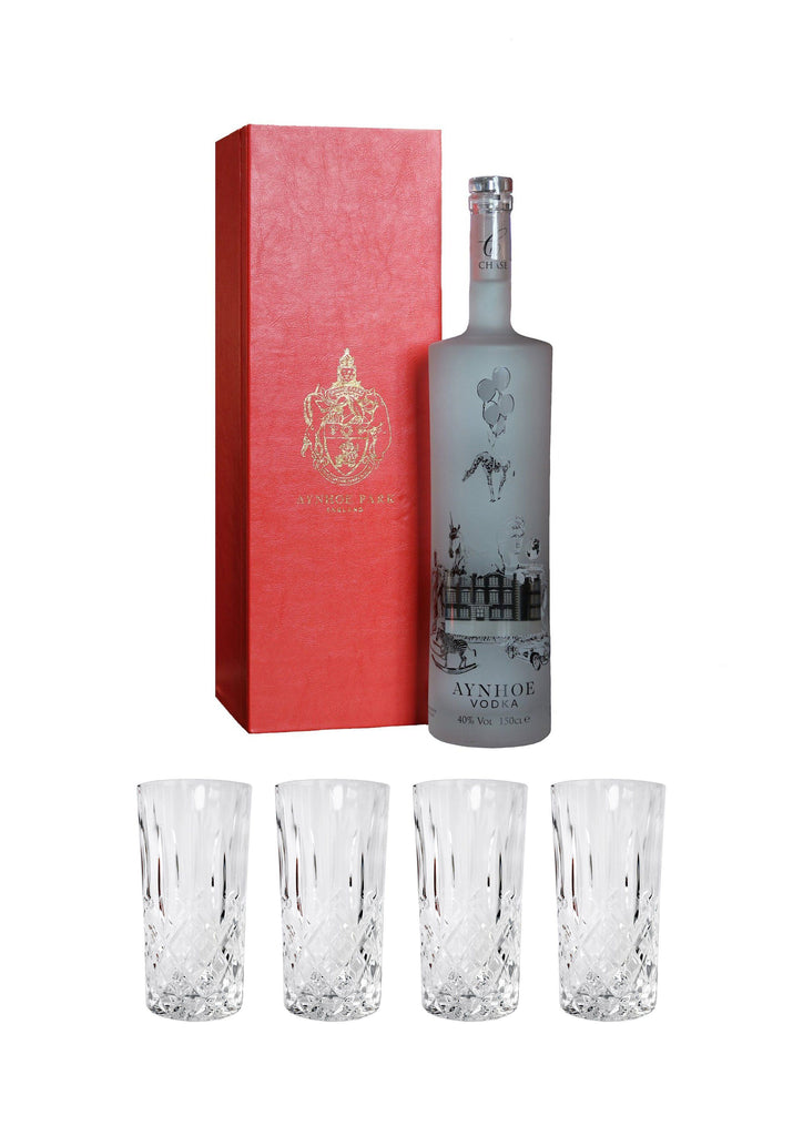 Aynhoe Park Magnum Collectors Edition with box and four Hi Ball Glasses set - A Modern Grand Tour