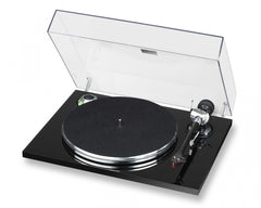 EAT PRELUDE TURNTABLE W ORTOFON 2M RED CART PIANO BLACK