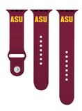 Arizona State Sun Devils Silicone Sport Band Fits Apple Watch