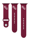 Florida State Seminoles Silicone Sport Band Fits Apple Watch