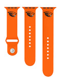 Oregon State Beavers Silicone Sport Band Fits Apple Watch