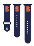 Syracuse Orange Silicone Sport Band Fits Apple Watch