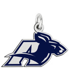 Akron Zips Color Logo Charm