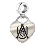 Alabama A&M Bulldogs Heart Drop Charm