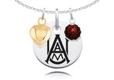 Alabama A&M Bulldogs Necklace with Charm Accents