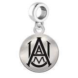 Alabama A&M Bulldogs Round Drop Charm