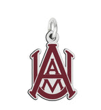 Alabama A&M Bulldogs Color Logo Charm