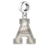 Appalachian State Mountaineers Natural Finish Logo Dangle Charm