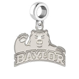 Baylor Bears Natural Finish Logo Dangle Charm
