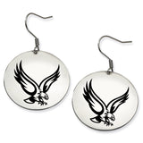 Boston College Eagles Stainless Steel Disc Earrings