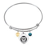 Butler Bulldogs Sterling Silver Bangle Bracelet