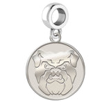 Butler Bulldogs Natural Finish Logo Dangle Charm
