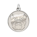 Butler Bulldogs Sterling Silver Natural Finish Charm