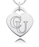 Campbell Camels Sterling Silver Heart Charm