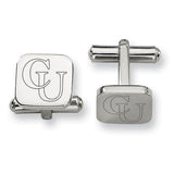 Campbell Fighting Camels Stainless Steel Cufflinks