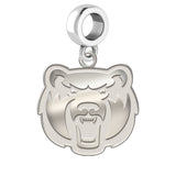 Central Arkansas Bears Natural Finish Logo Dangle Charm
