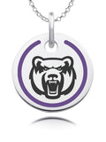 Central Arkansas Bears Round Enamel Charm