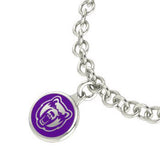 Central Arkansas Bears Silver Charm Bracelet