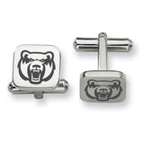 Central Arkansas Bears Stainless Steel Cufflinks