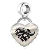 Christopher Newport Captains Heart Drop Charm