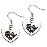 Christopher Newport Captains Heart Drop Earrings
