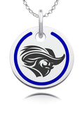 Christopher Newport Captains Round Enamel Charm