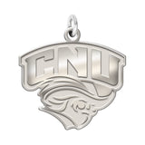 Christopher Newport Captains Sterling Silver Natural Finish Charm