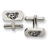 Cornell Big Red Rectangular Cufflinks