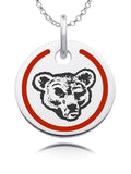 Cornell Big Red Round Enamel Charm