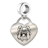 Fresno State Bulldogs Heart Drop Charm