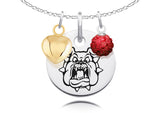Fresno State Bulldogs Necklace with Charm Accents