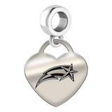 George Mason Patriots Heart Drop Charm