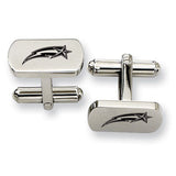 George Mason Patriots Rectangular Cufflinks