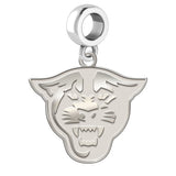 Georgia State Panthers Natural Finish Logo Dangle Charm
