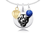 Georgia State Panthers Necklace with Charm Accents