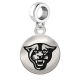 Georgia State Panthers Round Drop Charm