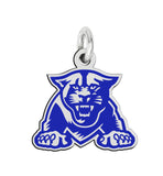 Georgia State Panthers  Sterling Silver Logo Charm