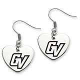 Grand Valley State Lakers Heart Drop Earrings
