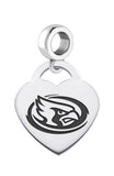 Iowa State Cyclones Heart Drop Charm