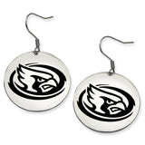 Iowa State Cyclones Stainless Steel Disc Earrings