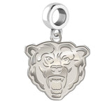 Kutztown Golden Bears Natural Finish Logo Dangle Charm