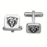 Kutztown Golden Bears Stainless Steel Cufflinks