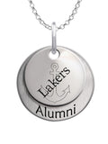 Lake Superior State Lakers Alumni Necklace