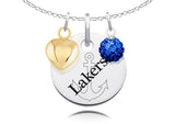 Lake Superior State Lakers Necklace with Charm Accents