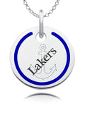 Lake Superior State Lakers Round Enamel Charm