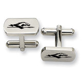Longwood Lancers Rectangular Cufflinks