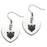 Mercer Bears Heart Drop Earrings
